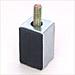 防振・断熱ゴムW3/8ボルト付き(防振・断熱吊り具ボルト付き)