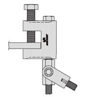 アシバツナギ 壁つなぎ接続用クランプ H鋼用