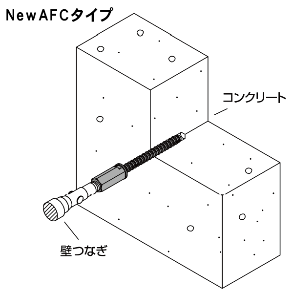 アシバツナギ プレコンタイプ 施工例