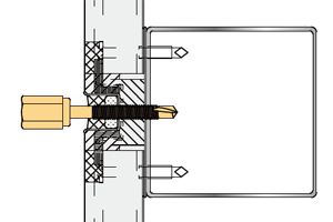 GS 新アシバツナギS SFタイプ ナット固定式