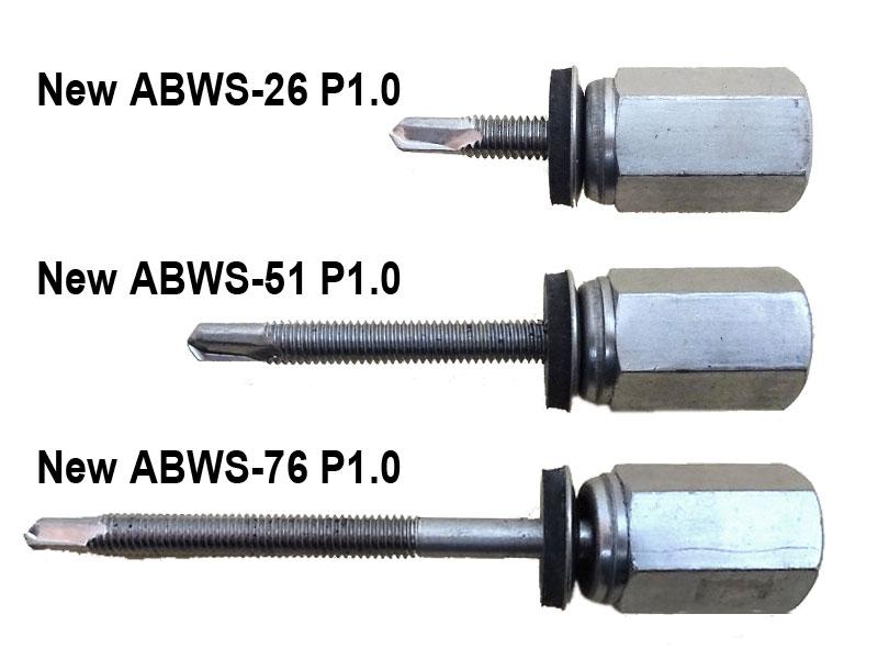 アシバツナギ ステンめっき 据置タイプ P1.0細目ネジ
