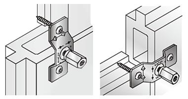 アシバツナギ ツインタイプ 押出成形セメント板用
