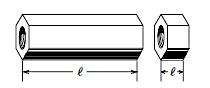 エンプラ高ナット寸法図