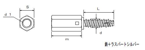 プレコンアンカーII プレキャストコンクリート用ハンガー 高ナット付タイプ サイズ表