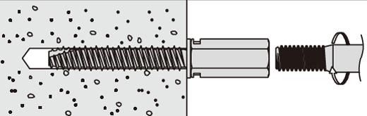 アシバツナギ プレコンタイプ 〈ナット固定式〉 施工方法