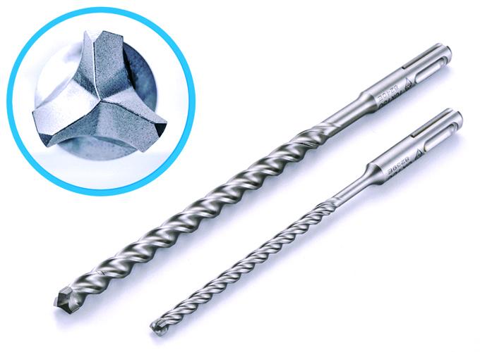 コンクリートドリル/Pレスアンカー用 下穴ドリル 三枚刃 SDSプラス