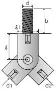 吊りボルト支持具 B-WNタイプ