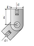 吊りボルト支持具 N-Nタイプ