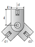 吊りボルト支持具 N-WNタイプ