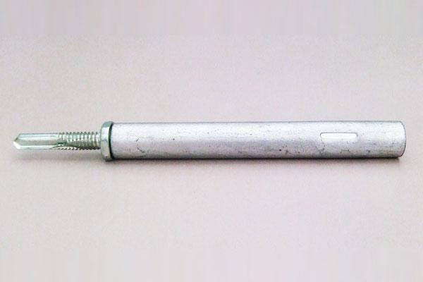 タテドイツナギ (W3/8-16)ボルト接続金具 TS-PN100 鋼製下地用パイプタイプ